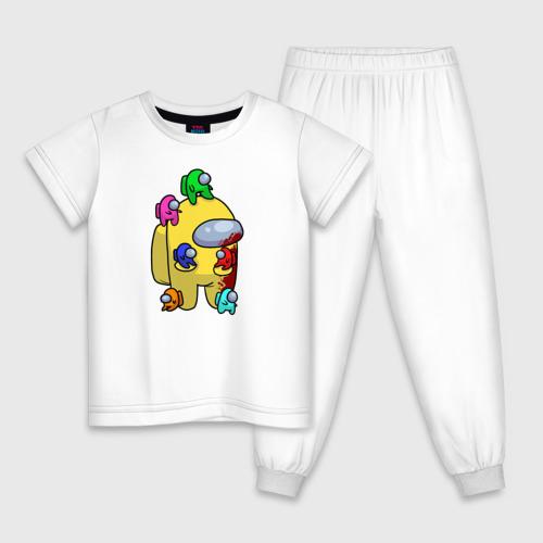 Детская пижама хлопок Among Us   Impostor