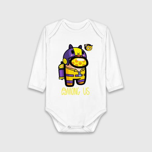 Детское боди хлопок Among Us Пчела