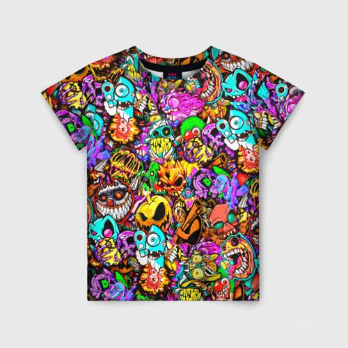 Детская футболка 3D STANDOFF 2 STICKERS