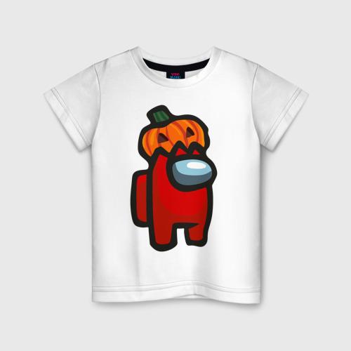 Детская футболка хлопок HALLOWEEN IS AMONG US