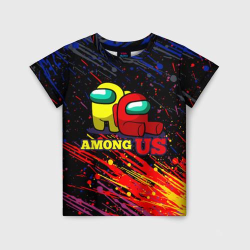 Детская футболка 3D AMONG US.