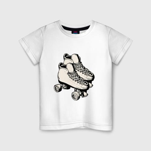 Детская футболка хлопок Ролики