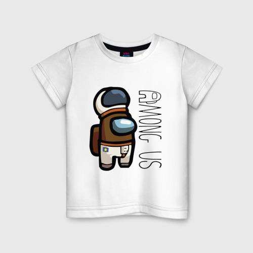 Детская футболка хлопок Among Us   Амонг Ас (Z)