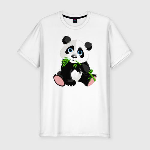 Мужская футболка хлопок Slim Животные