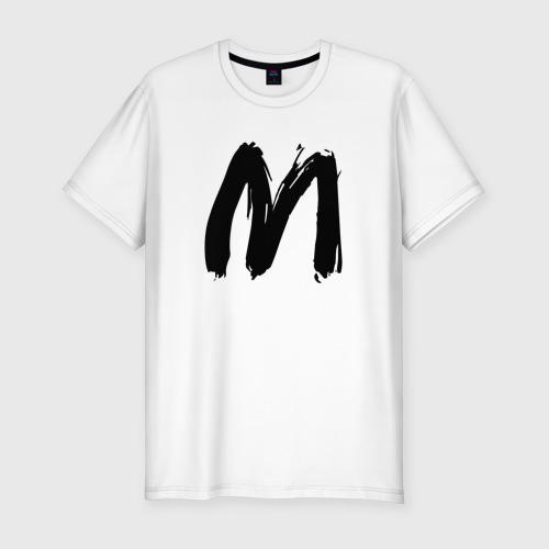 Мужская футболка хлопок Slim SLAVA MARLOW | СЛАВА МАРЛОУ