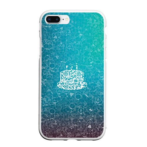 Чехол для iPhone 7Plus/8 Plus матовый Торт АПВ 197ЗГС