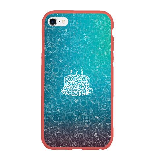 Чехол для iPhone 6Plus/6S Plus матовый Торт АПВ 197ЗГС