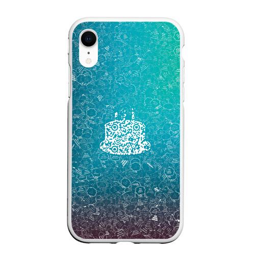 Чехол для iPhone XR матовый Торт АПВ 197ЗГС