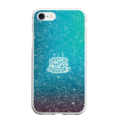 Чехол для iPhone 7/8 матовый Торт АПВ 197ЗГС