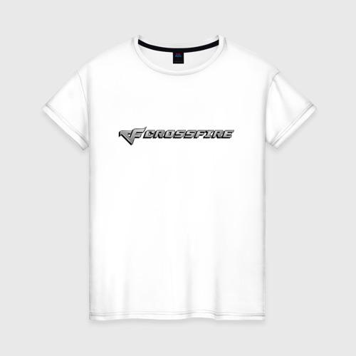 Женская футболка хлопок Кросс Фаер