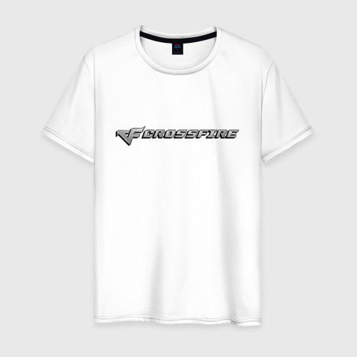 Мужская футболка хлопок Кросс Фаер