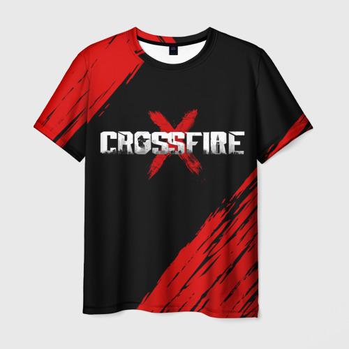 Мужская футболка 3D Cross fire X