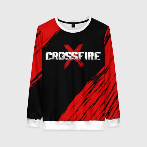 Женский свитшот 3D Cross fire X