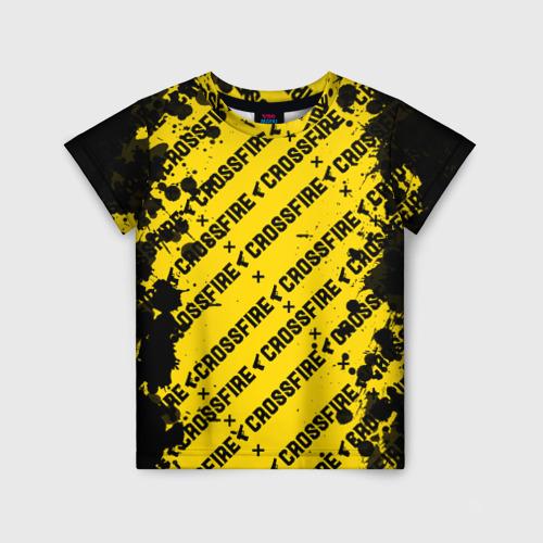 Детская футболка 3D Cross fire