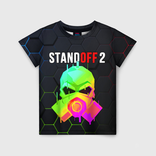 Детская футболка 3D STANDOFF 2 / Z9 MASK COLOR